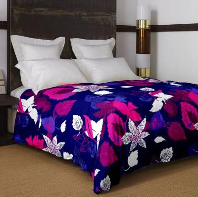 Bella Casa Floral Single Dohar Blue
