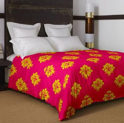 Bella Casa Floral Single Dohar Pink