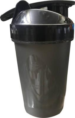 MadSan Gym Shaker, Sipper 400 ml Bottle(Pack of 1, Black)  available at flipkart for Rs.235