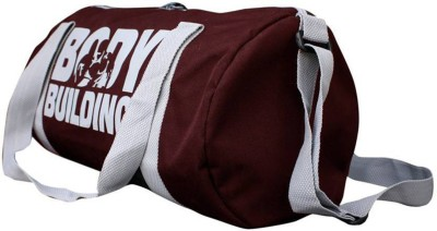 Cp Bigbasket Sports Duffle Bag (Expandable) Gym Bag(Maroon)  available at flipkart for Rs.235