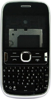 Boom Replacement Full Body Housing For Nokia Asha 302 Full Panel(Black)