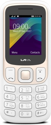 Lava Prime X White - Gold Mobile