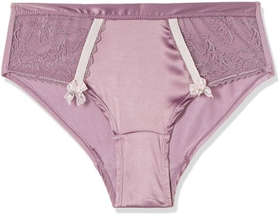 Bwitch Women Thong Purple Panty(Pack of 1)