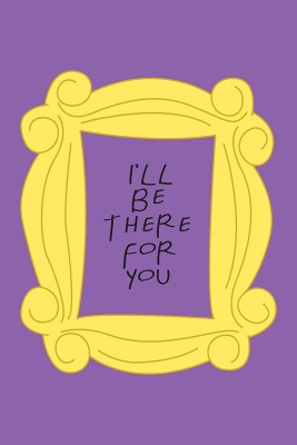 F.R.I.E.N.D.S. - I'll be there for you - TV Series - Posters for Home & Office - Friends Posters Fine Art Print(18 inch X 12 inch)  available at flipkart for Rs.185