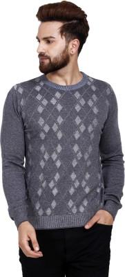 Reston Round Neck Printed Men's Pullover