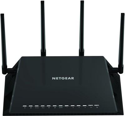 Netgear r7800-100ins 2530 Mbps Router(Black, Single Band)