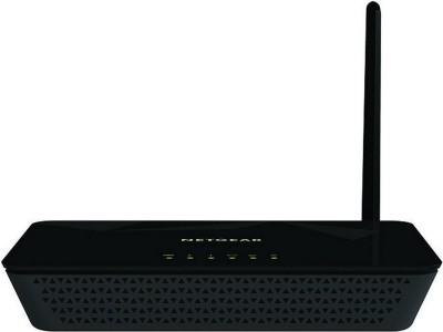 Netgear D500 N150 Wi-Fi Modem Router(Black)