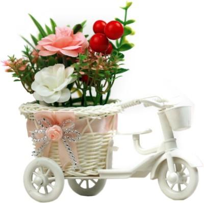 IndoSkyAsia 10108_BABYPINK Artificial Flower Gift Set