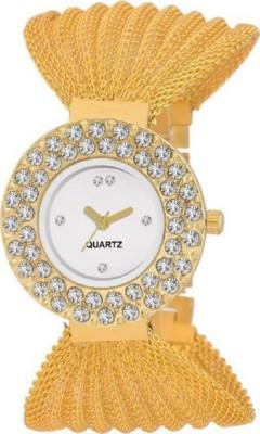Keepkart New Stylish Round Jullo White Dial Women Watch Watch  - For Girls