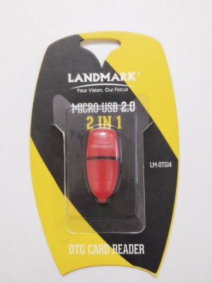 Landmark LM-OTG14 Card Reader(Orange)