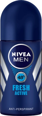 Nivea Men Fresh Active Deodorant Roll-On Deodorant Roll-on  -  For Men(25 ml)