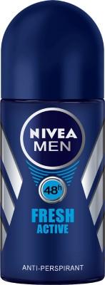 Nivea Men Fresh Active Deodorant Roll-on  -  For Men(50 ml)  available at flipkart for Rs.165
