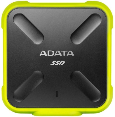 ADATA 512 GB External Solid State Drive(Yellow)