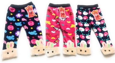 NewJainTraders Legging For Baby Girls(Multicolor Pack of 3)