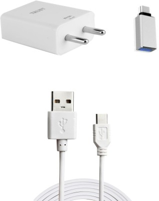 Trust Wall Charger Accessory Combo for Xiaomi Mi Mix White, Silver Trust Mobiles Accessories Combos