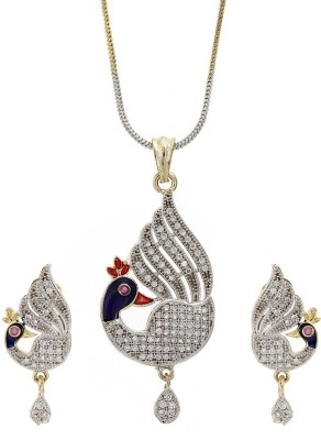 Rich & Famous Elegant Gold Plated with stone studded Bajrangi inspired Bajrang bali Alloy Pendant