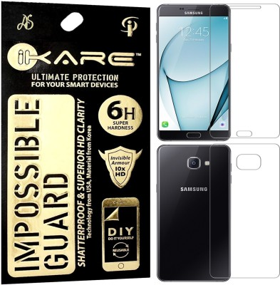 iKare Impossible Screen Guard for Samsung Galaxy A9 Pro (2016) Front & Back