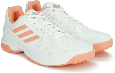 Adidas ASPIRE Tennis Shoes For Women(White, Pink)