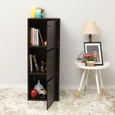 Home Full Max Engineered Wood Free Standing Cabinet(Finish Color - WENGE)