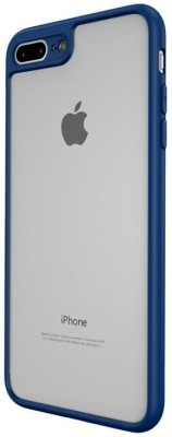 Wow Imagine Back Cover for Apple iPhone 7 Plus, Apple iPhone 8 Plus Black, Silicon Wow Imagine Plain Cases   Covers