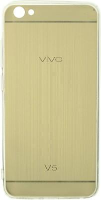 San Pareil Back Cover for VIVO V5(Gold, Grip Case)