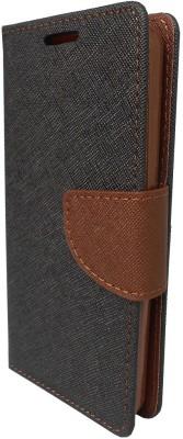 GMK MARTIN Flip Cover for FOR Xiaomi Mi4i (2015)(Brown, Grip Case, Artificial Leather)