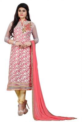 f1c5d643cc View Fashion Surat Net Self Design Kurta & Churidar Material(Un-stitched)  Price
