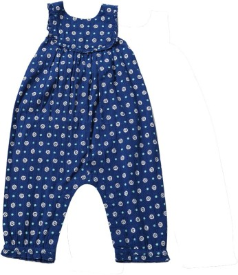 Tiddlywings Printed Baby Girl's Jumpsuit