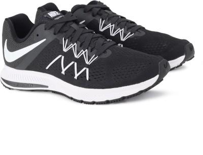 Nike ZOOM WINFLO 3 Running Shoes For Men(Black, White) 1