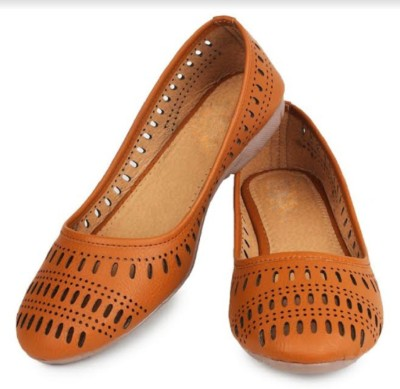 ryag PBELLIES Bellies For Women(Tan)