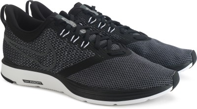 Nike ZOOM STRIKE Running Shoes For Men(Black)
