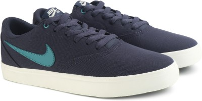Nike SB CHECK SOLAR CNVS Sneakers For Men(Blue) 1