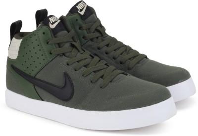 Nike LITEFORCE III MID Sneakers For Men(Green) 1