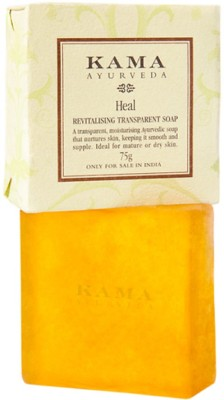 KAMA AYURVEDA Heal Revitalising Transparent Soap(75 g)