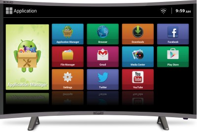 Mitashi 32 inch HD Ready Curved LED Smart TV is a best LED TV under 20000