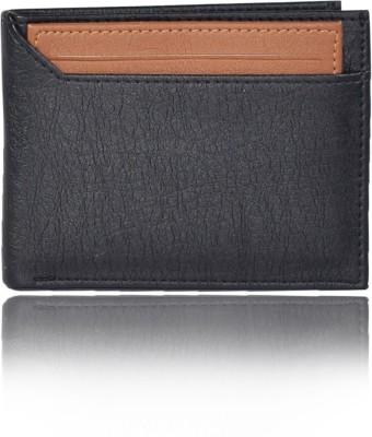 Bizarre Kraftz Men Tan Artificial Leather Wallet 7 Card Slots