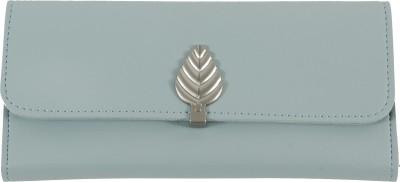 ModishOmbre Women Grey Artificial Leather Wallet(6 Card Slots)