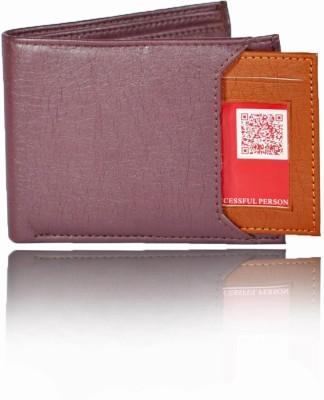 Bizarre Kraftz Men Brown Artificial Leather Wallet 7 Card Slots