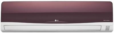 View LG 1.5 Ton 3 Star BEE Rating 2018 Split AC  - White, Maroon(JS-Q18TWXD1, Copper Condenser)  Price Online