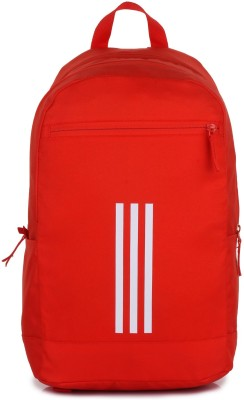 Adidas Classic Medium 3S 24 L Laptop Backpack(Orange)  available at flipkart for Rs.2299