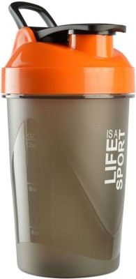 BNP lias sipper 500 ml Shaker(Pack of 1, Orange)