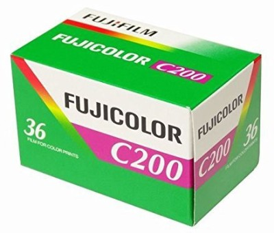 Fujifilm Fujicolor Color Negative Film ISO 200 35mm Film Roll(No 200 ISO Pack of 1)