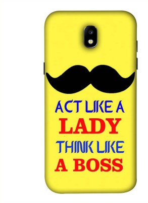 99Sublimation Back Cover for Micromax Canvas Juice 3 Q392(Boss Mustache Men, Plastic)