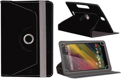 Jkobi Flip Cover for Hp 7 Voice Tab(Black, Leather)