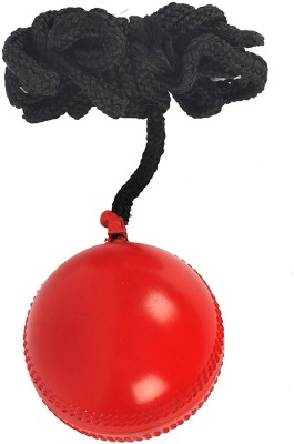 Sunshine Gifting Dixon Hanging Rubber Cricket Practice Ball, Standard (Red) Hard Plastic Hanging Ball for Cricket(Pack of 1)  available at flipkart for Rs.299