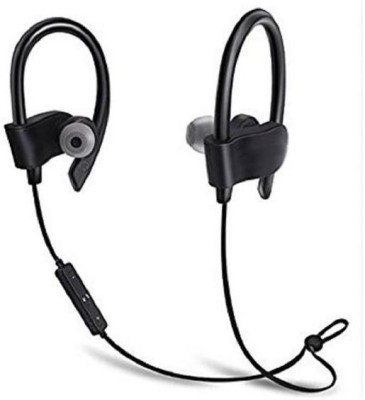 Anytime shops QC-10S Wireless Bluetooth Headset Headphones V4.1 Sports Earphone In Ear for All Android and iOS Mobile Headset with Mic Bluetooth Headset with Mic(Multicolor, In the Ear)