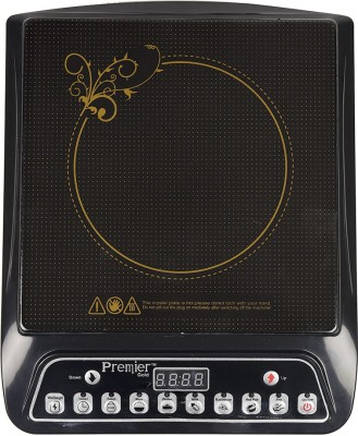 Premier Gold A8 Induction Cooktop Induction Hob Electric Countertop Burner Induction Cooktop(Black, Push Button)  available at flipkart for Rs.1299