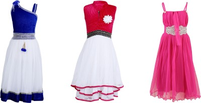 Crazeis Party Dress(Red)