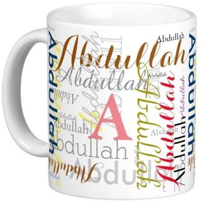 Exocticaa ABDULLAH Gift M006 Ceramic Mug(325 ml)