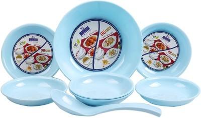 RC International Omega 8 Pcs Bowl, Spoon Serving Set Pack of 8 RC International Serving Sets